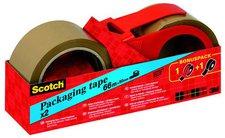 Scotch Verpackungsklebeband 50mm x 66m braun (C5066P)