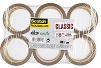 Scotch Verpackungsklebeband 66m x 50mm braun 6 Rollen (CB5066F6)