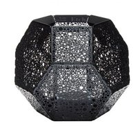 Tom Dixon Etch Tea Light Holder schwarz (ETT02BLK)