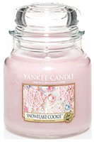 Yankee Candle Snowflake Cookie Cassis mittleres Jar (1275343E)