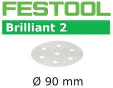 Festool Schleifscheiben Brilliant2 STF D90mm 6-Loch P60, 50Stk.