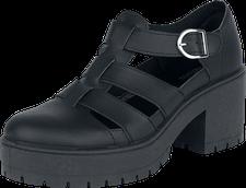 Victoria Shoes Sandalia Piel black