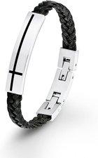S.Oliver Armband für Jungen schwarz 20 cm (SOK190/1)