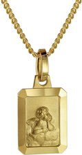 Trendor Gold-Anhänger Amor (73457)
