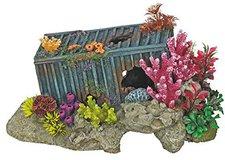 Nobby Aqua Ornaments Container mit Korallen mit Pflanzen (28493)