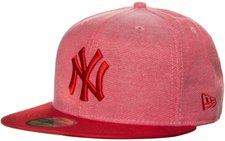 New Era New York Yankees MLB Oxford Lights 59FIFTY red