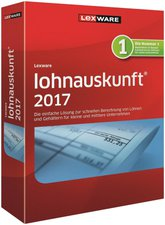 Lexware Lohnauskunft 2017 Netzwerkversion (Jahresabo) (ESD)