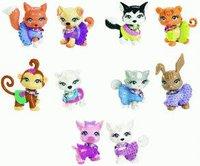 Mattel Polly Pocket Funkelnde Tierfreunde