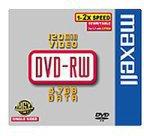 Maxell DVD-RW 4,7GB 120min 2x 5er Jewelcase