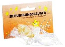Dr. JUNGHANS BERUHIGUNGSSAUGER Kirschf.Lat.ab 6 M.weiss 1 St