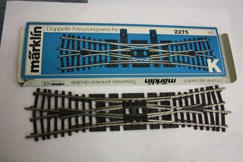 Märklin 2275 - Doppelkreuzungsweiche 225 mm (H0)
