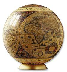 Ravensburger Historische Weltkarte Puzzle Ball gross 540 Teile