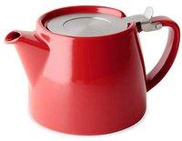 Forlife Design Teekanne mit Deckel und Sieb 0,5 L
