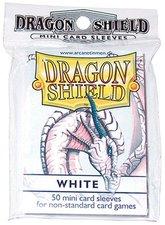 Arcane Tinmen Dragon Shield Mini Card Sleeves 50 Stück weiß