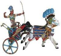 Plastoy Ramses II mit Streitwagen