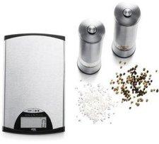 ADE TM 108  Küchenwaage incl. Salz & Pfeffermühle