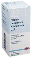 Dr. Schüßler Salze Calcium carbononicum D12 Tabletten (200 Stk.)
