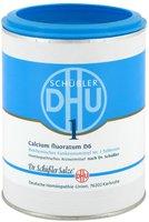DHU Calcium Fluoratum D6 Tabletten (1000 Stk.)