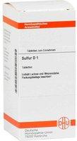 DHU Sulfur D 1 Tabletten (200 Stk.)