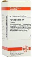 DHU Pareira Brava D 6 Tabletten (80 Stk.)
