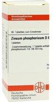 DHU Zincum Phosphoricum D 6 Tabletten (80 Stk.)