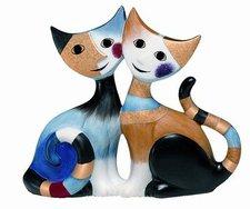 Goebel Katzen Claudio e Claudia