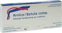 Weleda Arnica / Betula Comp. Ampullen (8 x 1 ml)