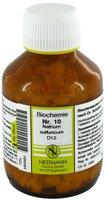 Nestmann Biochemie 10 Natrium Sulfuricum D 12 Tabletten (400 Stk.)
