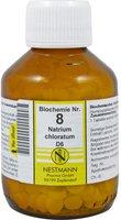 Nestmann Biochemie 8 Natrium Chloratum D 6 Tabletten (400 Stk.)