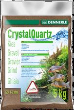DENNERLE Kristall-Quarzkies Dunkelbraun 5kg