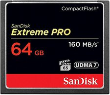 SanDisk compactFlash Card Extreme Pro (64GB)