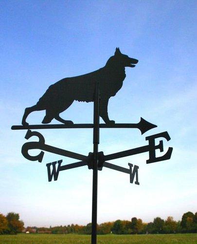 Svenska Wetterfahne Schäferhund
