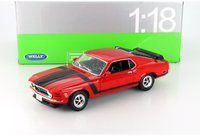 Welly Ford Mustang Boss 302 1970 rot 1:18