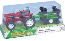 The Toy Company Farm Life - Traktor mit Anhänger (51051)