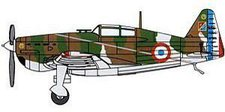 Trumpeter Easy Model - MS 406 French Air Force GcII/3 3/4 Escadrille (36325)