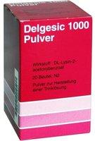 Linden Arzneim Vertr Delgesic 1000 Pulver (PZN 2055471)