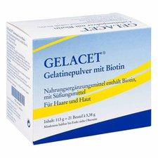 Hermal Gelacet gelatine Mit Biotin Pulver (PZN 4143417)