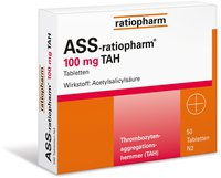 ratiopharm Herz Ass 100 Tabletten (PZN 4633713)