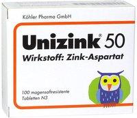 Köhler Pharma Unizink 50 Tabletten magensaftresistent (PZN 3441638)