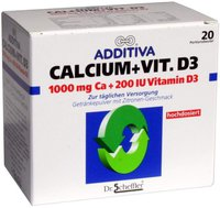 Scheffler Additiva Calcium + Vitamin D3 (PZN 1329274)