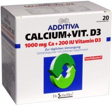 Scheffler Additiva Calcium + Vitamin D3 (PZN 1329274)