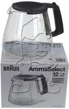 Braun Glaskanne für AromaSelect 12
