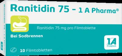 1A Pharma Ranitidin 75 (10 Stück)