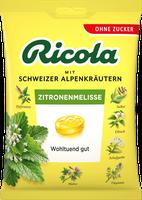 Ricola Schweizer Kräuterbonbons Zitronenmelisse mit Zucker (75 g)