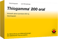 Wörwag Thiogamma 200 Oral Kapseln (100 Stück)