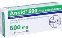 Hexal Ancid 500 mg Kautabl. (50 Stück)