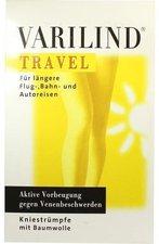 Varilind Travel Kniestrumpf Baumwolle M weiss