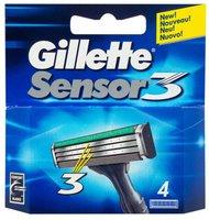 Gillette Sensor3 Systemklingen (4er)