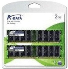 A-Data Value 2GB Kit DDR PC3200 CL3