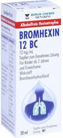Berlin-Chemie Bromhexin 12 Bc Tropfen (30 ml)